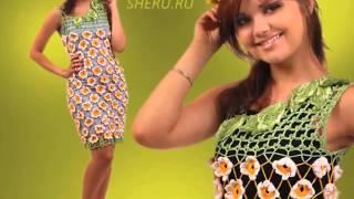 getlinkyoutube.com-video vestidos de tiras en lanas