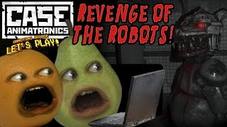 getlinkyoutube.com-Annoying Orange & Pear Play - CASE: Animatronics! REVENGE OF THE ROBOTS