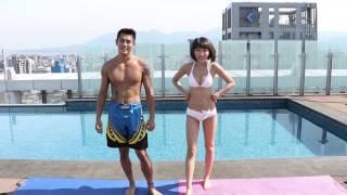 getlinkyoutube.com-比基尼 5個動作 情侶健身瘦身減肥