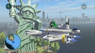 LEGO Marvel Super Heroes - Unlocking and Flying the S.H.I.E.L.D. Minicarrier