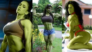 getlinkyoutube.com-Hulk and She Hulk Cosplay from Marvel Comics   Superhero Cosplay 2016   Lorekings