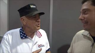 getlinkyoutube.com-R. Lee Ermey THE GUNNY YELLS AT ME ! Shot Show weaponseducation