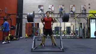 getlinkyoutube.com-Back Squat 110 Kg. - Robin Squarzanti - Wushu Team Ferrara