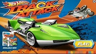 getlinkyoutube.com-Hot Wheels Track Attack Game - Best Kid Games