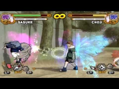 NUN3 CS2 Sasuke vs. Butterfly Chouji
