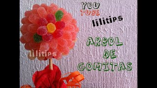 getlinkyoutube.com-Regalo 14 de febrero: Arbol de gomitas
