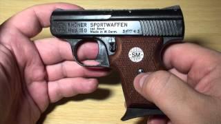 getlinkyoutube.com-Pistola detonadora RHÖNER Mod. 15G cal. 8mm