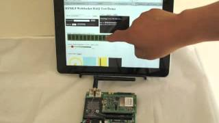 HTML5 WebSocket Wireless Wi-Fi Embedded Module: Control Hardware with a Web Browser on any Device