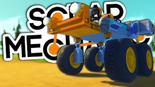 getlinkyoutube.com-ROCKET CAR   Scrap Mechanic #1