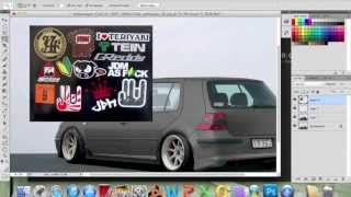 getlinkyoutube.com-Virtual Tuning: VW Golf GTI (Remake)