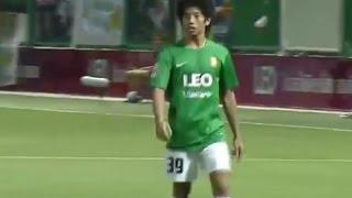 getlinkyoutube.com-[จังหวะการเล่น] Thanasit Siriphala ธนาสิทธิ์ ศิริผลา vs ชลบุรี TPL 26-4-58 [HD]