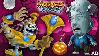 getlinkyoutube.com-FGTEEV MONSTER LEGENDS BATTLE 🎃 Halloween Game Time Fun! 👾 👹 💀 (DUDDY vs. BOSS)