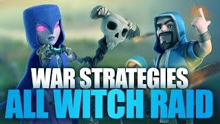 getlinkyoutube.com-Witch Is Awesome | All Witch Strategies: Witch Walk, Gowiwi,...For War | Clash Of Clans