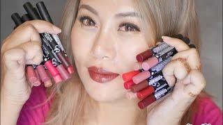 getlinkyoutube.com-รีวิว Golden Rose รุ่น Matte Lipstick Crayon 20 สี | Aiwa