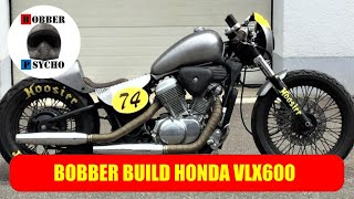 "Honda VT600 Shadow ""How to build a low budget Bobber"""