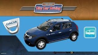 getlinkyoutube.com-[City Car Driving] Dacia Sandero [G25]
