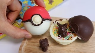 Pokémon Chocolate Poké Ball Making kit