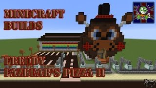getlinkyoutube.com-Minecraft Builds Episode 20 - Freddy Fazbear's Pizza v.2