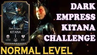 getlinkyoutube.com-Dark Empress Kitana Challenge (Normal Difficulty). Mortal Kombat X Mobile