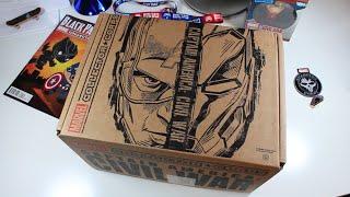 Unboxing Captain America: Civil War Marvel Subscription Box