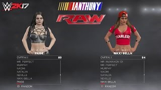 getlinkyoutube.com-WWE 2K17 Complete Roster #SuplexCity