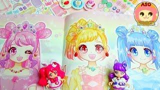 プリキュアアラモード ❤ティアドリームのドレスアップアクセデコでかわいくデコレーションキッズ アニメ おもちゃ Kids Anime Toy