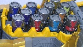 getlinkyoutube.com-파워레인저 다이노포스 브라기가스 다이노셀 장난감 Power Rangers Dino Charge Morph Toys
