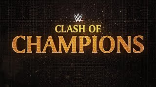 WWE Clash Of Champions 2017 Live Full Show December 17th 2017