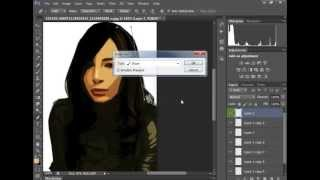 getlinkyoutube.com-طريقة رسم الشعر بطريقة فيها احترافية  pen tool