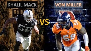 "Von Miller or Khalil Mack ""Pass Rusher Supremacy""."