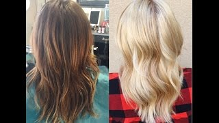 getlinkyoutube.com-Olaplex Blonde Goes Platinum Blonde  | PART 2| HighLift Blonde Idol