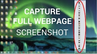 How to Capture Full Web Page Screenshot Using Google Chrome