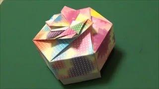 "getlinkyoutube.com-「キャンディボックス」折り紙""Candy box""origami"