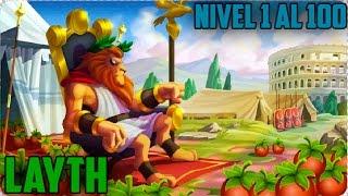 getlinkyoutube.com-Monster Legends - Layth (Nivel 1 al 100) + Combate