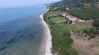 Riza village - Beach drone flight