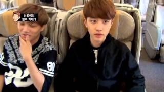 "getlinkyoutube.com-[HD-Eng] D.O. cut ""Bejjing Time"" in EXO First Box DVD"