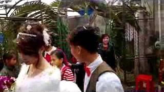 Clip rước dâu bằng xe đạp cà tàng ở Nghệ An