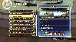 Dragon Ball Xenoverse 2 - Parallel Quest 59 - Potara Warrior + Ultimate Finish