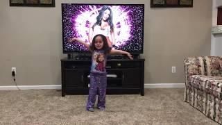 Norah does the Nikki Bella Entrance