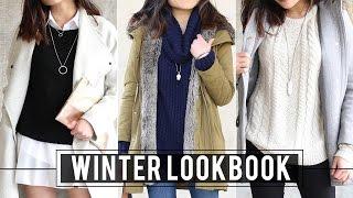 getlinkyoutube.com-Winter Lookbook | Fashion Outfit Ideas | Miss Louie