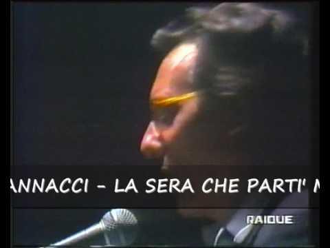 ENZO JANNACCI - LA SERA CHE PARTI' MIO PADRE (LIVE)
