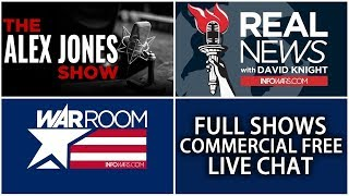 LIVE 📢 All Shows From Today Commercial Free ► Alex Jones Infowars • Monday 5/21/18