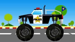getlinkyoutube.com-Monster Truck | Monster Truck Videos For Kids | Monster Trucks For Children
