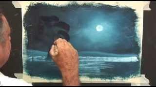 getlinkyoutube.com-Paint a Moonlight Scene