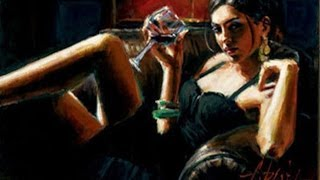 Танго и женщины в картинах Фабиана Переза | Women in pictures Fabian Perez | HD