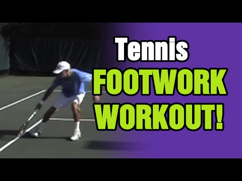 Tennis Lessons - Footwork Workout | Tom Avery Tennis 239.592.5920