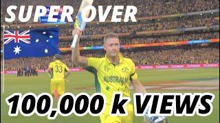 ICC Cricket World Cup Finals 2015 - Australia vs New Zealand - Winning moment at MCG width=