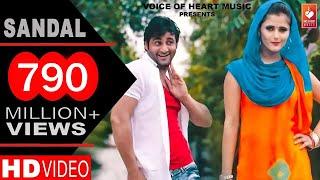 ✓ Sandal | सैंडल | Haryanvi DJ Song 2016 | Vijay Varma | Anjali Raghav | Raju Punjabi | VR Bros