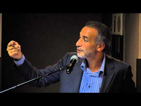 Professor Tariq Ramadan at the University of Johannesburg