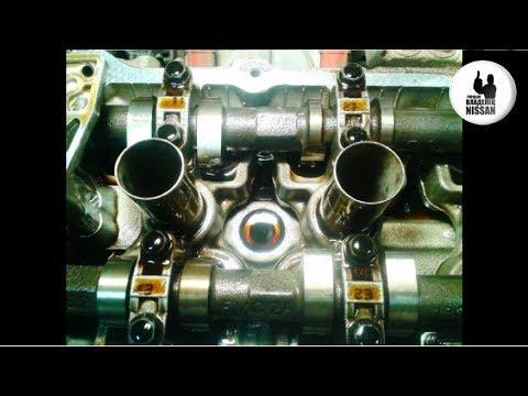 Мотор QG16 - QG18 Регулировка клапанов, полная версия. Nissan Primera P12